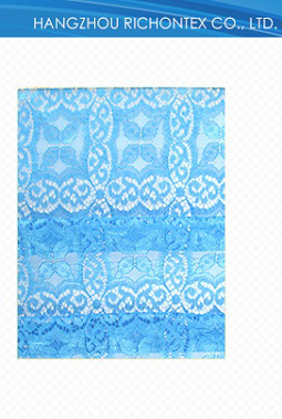 Colorful Unique Design Factory Made Cheap Knitting Lace Fabric