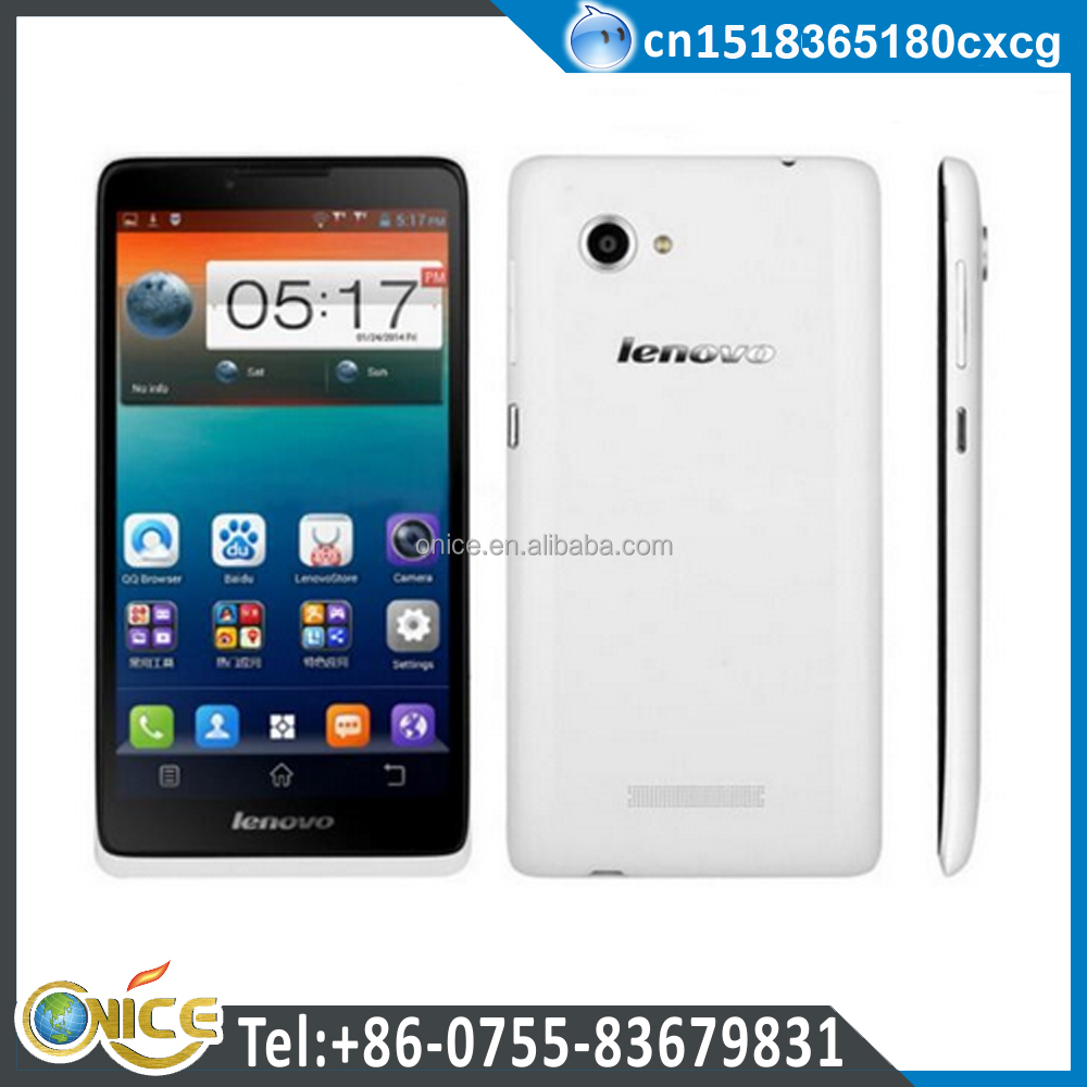 Lenovo dual SIM big screen 6 inch smartphone quad core 100% original for Lenovo A889