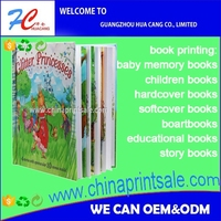 2016 personized full colour book printing and publishing of children books