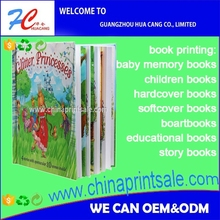 2017 personal full color book printing and publishing of children books