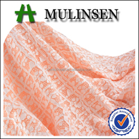 Mulinsen Textile Hot Sell New Product Soild Dyed Knit Stretch TC 80% Cotton 18% Polyester Double Jacquard Fabric for Women