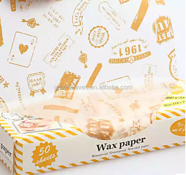 Hamburger Wax Paper
