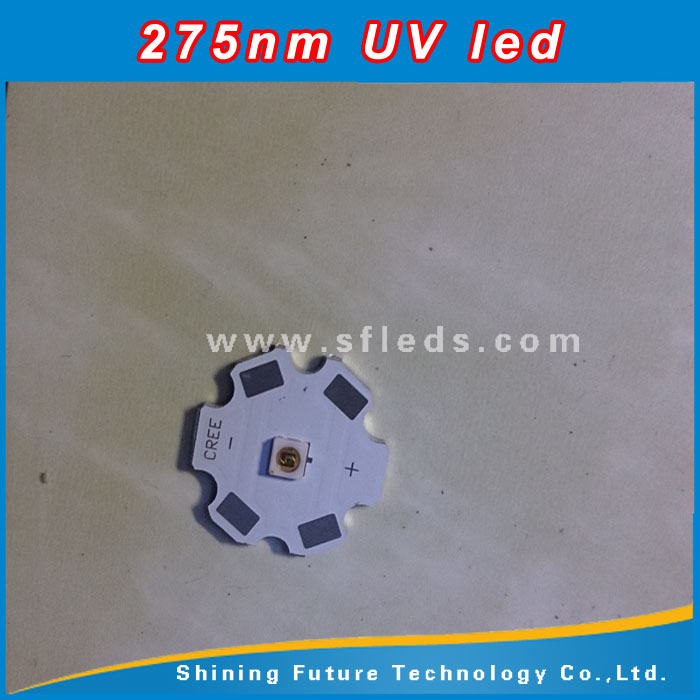 Professional UV C LED Supplier Sterilizing 265nm 275nm UVC LED