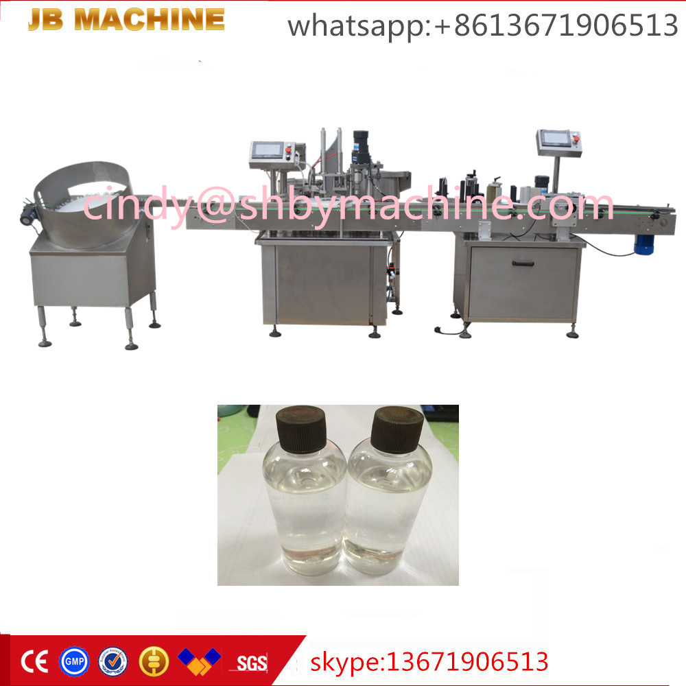 shanghai cheapest JB-Y2 automatic wine/alcohol bottle filling and capping machine