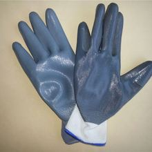 Gold supplier! nitrile coat color change gloves