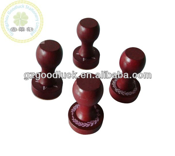 Rubber Stamp/Wooden Stamp Mount/Stamp Handle For Office Usage