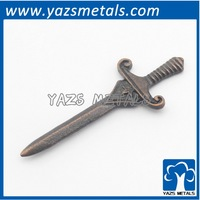 custom made metal retro decoration gadget treasured sword