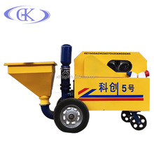 high quality automatic wall plastering machine cement spray rendering machine