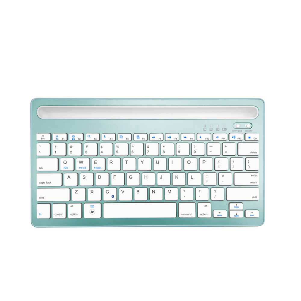 best price ergonomic multimedia bluetooth wireless portable russian keyboard