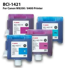 genuine original CANON BCI-1421 Ink Cartridge for wide format CANON BJ-W8200/8400 Printer