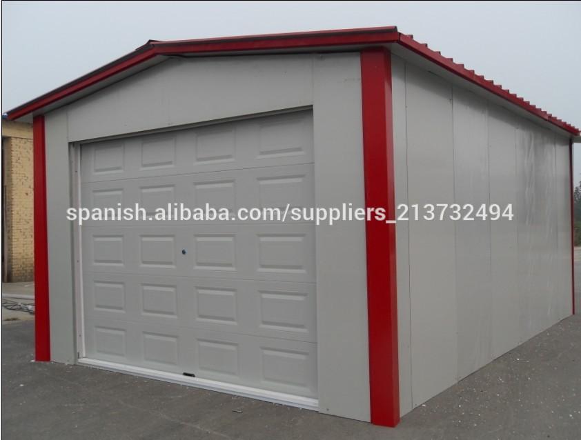 Coche del garaje garage prefabricado casa prefabricada for Garaje portatil