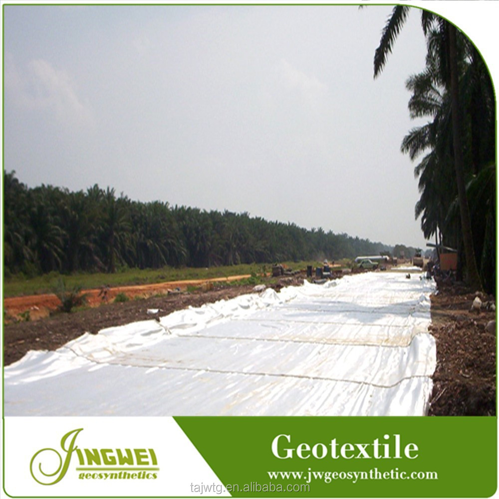 Erosion control uv protection PET nonwoven geotextiles enhance road performance