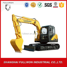 customized Liugong excavator 8ton for sale CLG908DII