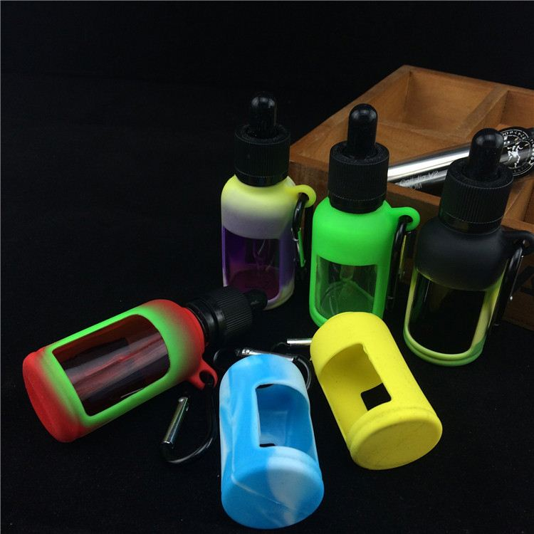 Cheapest!!! huge vapor spartan clearomizer vape bands silicon vape bandSilicone case bottles