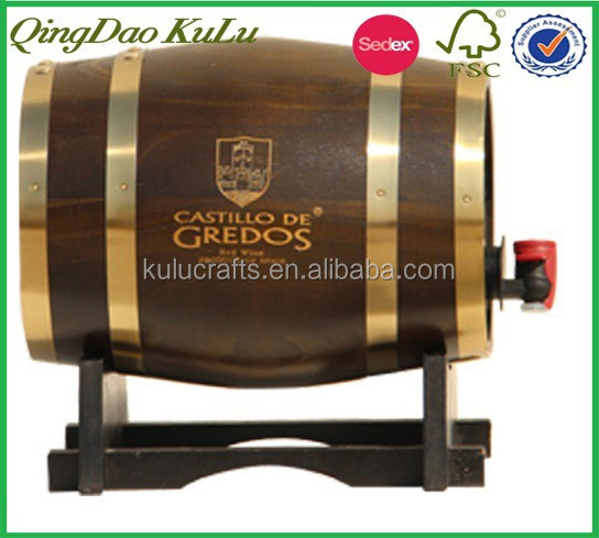 factory wholesale 5l 20l 25l 30l small wine barrel wooden beer keg