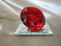 Red Glass Crystal Diamond for Wedding MH-9204