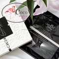 super top luxury acrylic invitations with box and laser cut design