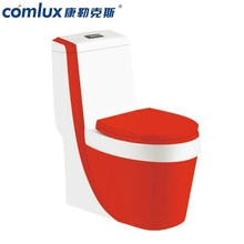 China manufacture ceramic decorate elegant high efficiency toilet wc bathroom water closet sanitaryware