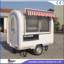 2017Jiexian JX-FR220H CE approved fast food mobile camper trailer for sale
