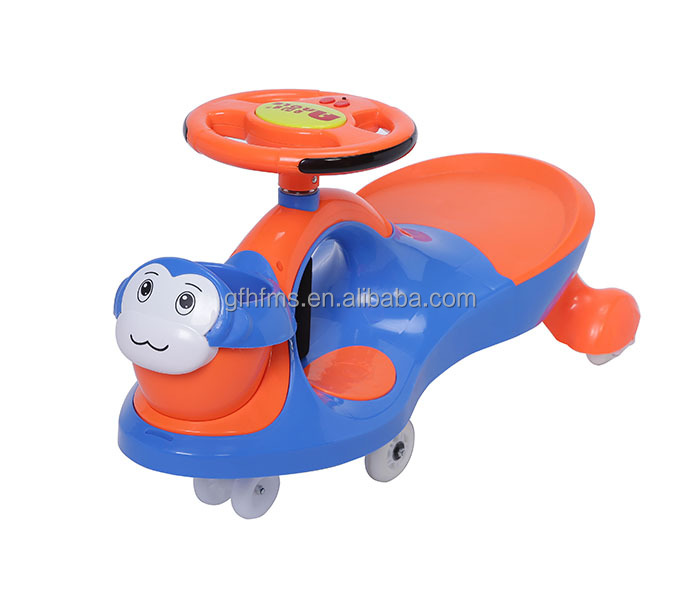 High Quality Best Price Top Sell New PP Kids Toy Ride On Swing Car