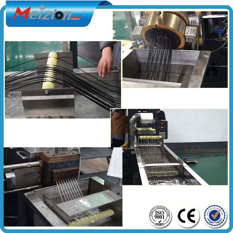 Nanjing Meizlon Twin Screw Extruder Machine For Pp And ...