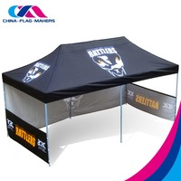 Chinese full color print portable display 3x6m (10x20) tent,3x6 promotion decoration tent