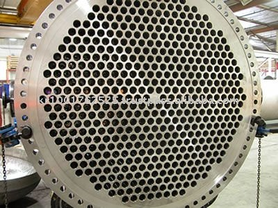 tube sheet for heat exchanger