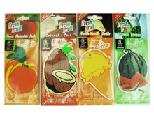 Manufacturers Wholesale Promotion Cheap Custom hanging Paper Car Air Freshener For Car