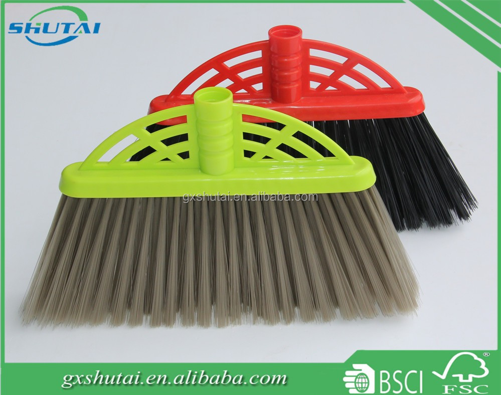 Housekeeping cleaning tools push broom plastic broom