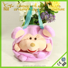 Custom Cartoon Pig Kid Bag Wholesale Hand bag China