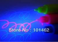 3 in 1 colored invisible UV Marker, colorless as usual and show bright neon color to uv black light