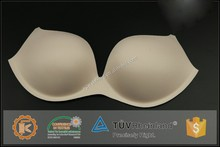 Factory price white ladies's foam moulded bra cup