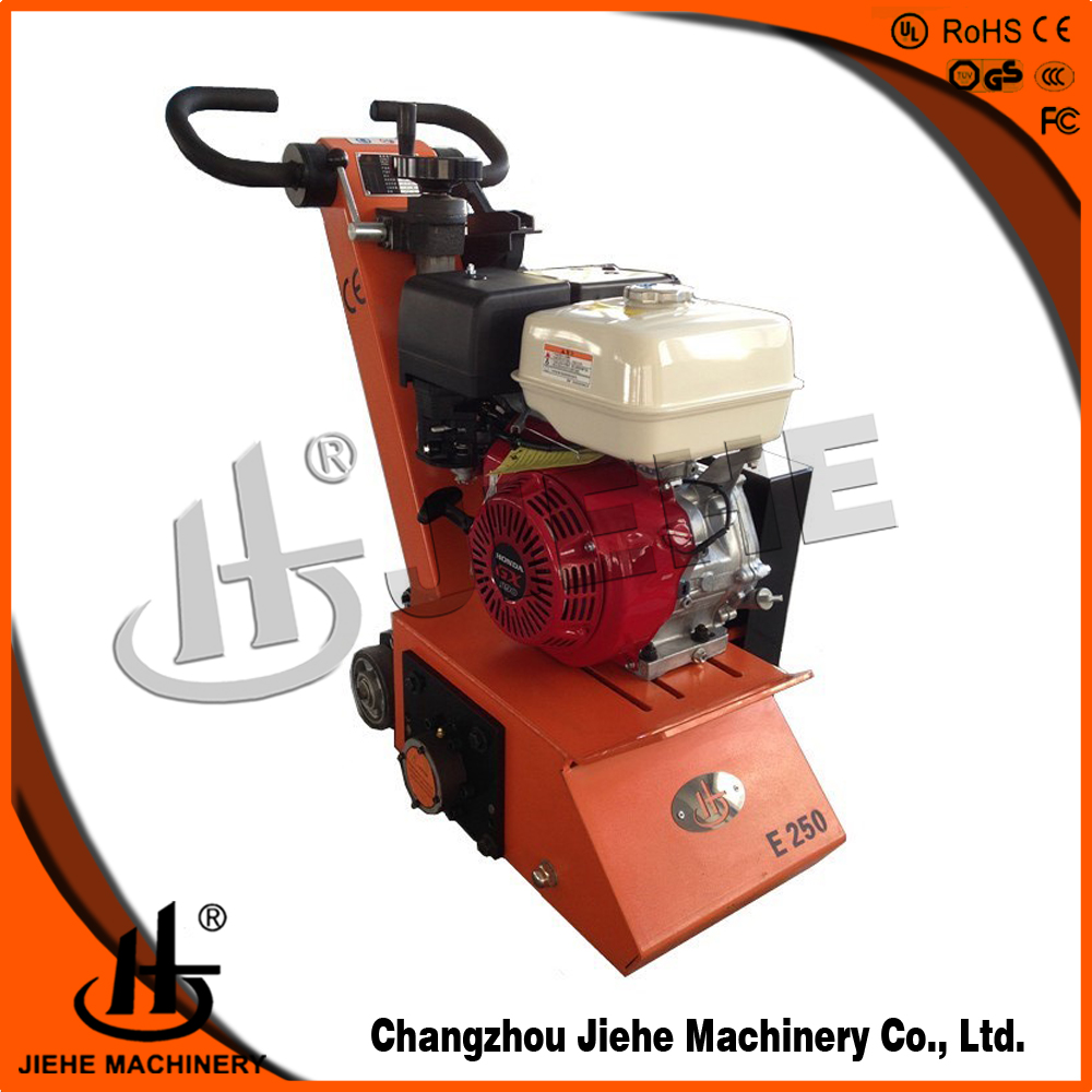 13 hp thermoplastic road line marking removal machine,kth road line paint remover JHE-250