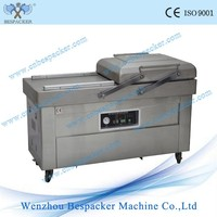 DZ-500 2SB Double Chamers Nitrogen Gas Flush Food Fish Vacuum Packing Sealer Machine