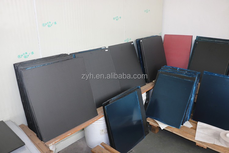 Good looking 3mm carbon fiber sheet/board/plate, 3mm carbon fiber sheet red yellow blue color selling