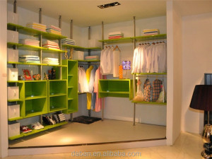 Hot selling aluminium sliding wardrobe doors/wardrobe clothes closet with doors