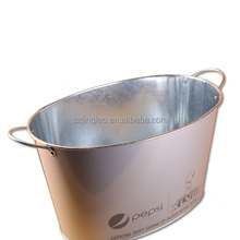 Double Wall Metal Ice Cube Buckets with Lid