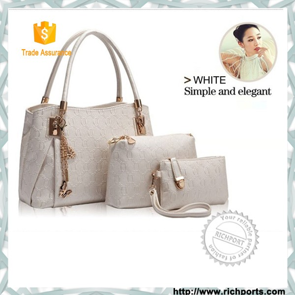 Wholesale cheap bags handbag From China 3 pieces handbags set for women