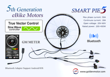 New Vector, Programmable , built-in Sine Wave controller Magic Pie5/Smart pie5 electric bicycle conversion kit,E bike motor