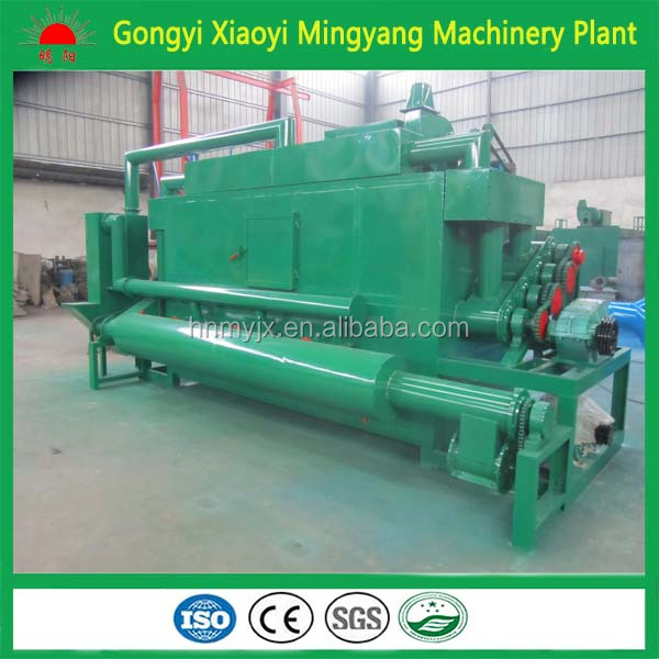 The hot selling no pollution continuously sawdust coal carbonizer/sawdust charcoal making machine 008615039052280