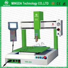 Cheap Price !!! Industrial 3 Axises CNC Robot Automatic Desktop Glue Dispenser / AB , UV , Hot Melt Glue Dispensing Machine LED