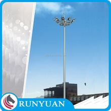 Factory Customized Galvanized steel electric pole