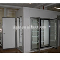 glass door cold storage room