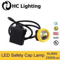 KL8MS LED light high peformance Li-ion battery miner's cap lamp