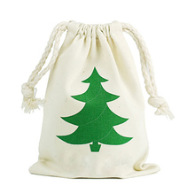 Kids Christmas Gift Candy Drawstring Bags