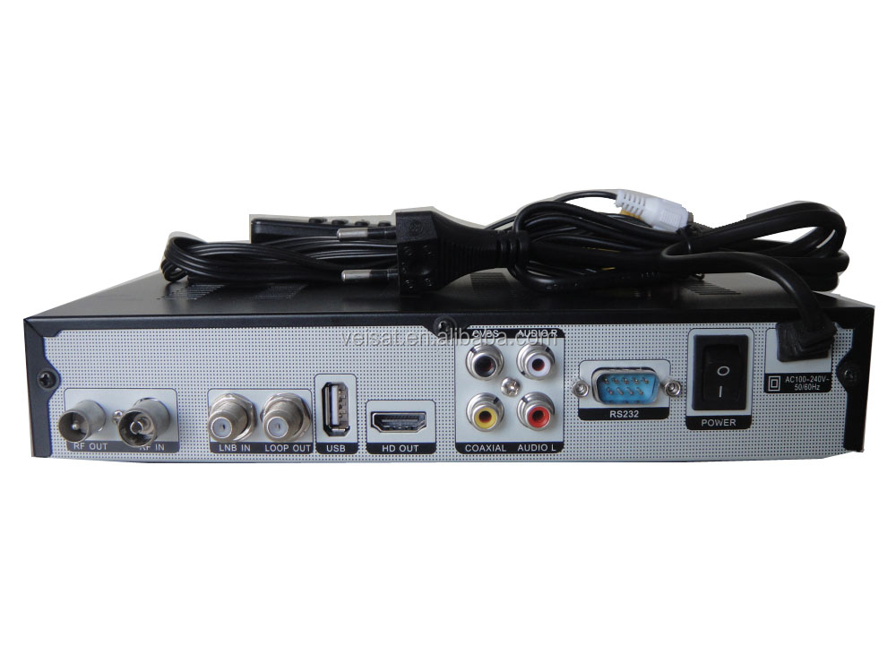 full hd satellite decoder FTA receiver with support wifi iks