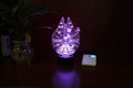 Creative 3D LED Night Light Acrylic Colorful Gradient Atmosphere Lamp Novelty Lighting