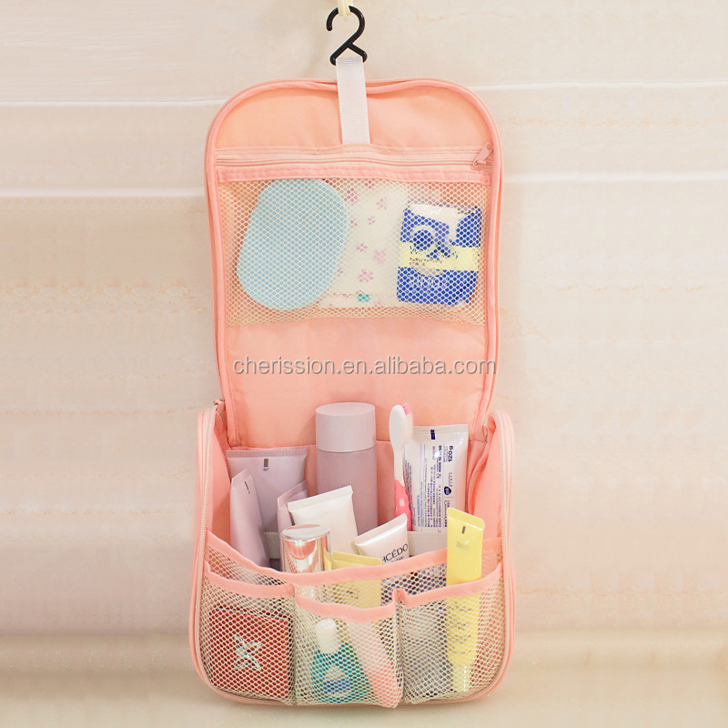 Wholesale Fashion Hanging Travel Cosmetic Bag Cases For Women