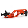 2017 FX cf moto color orange cnc aluminum motorcycle part brake clutch levers for Yamaha 2015 fz 09