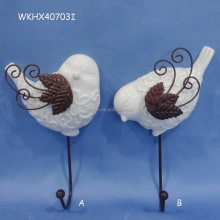 Good quality bird shape wall pocket hanger